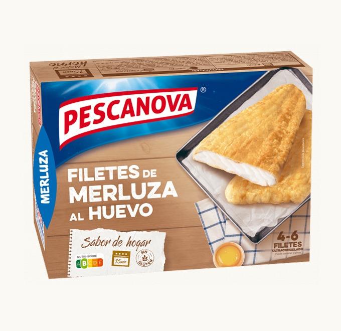 Filetes de Merluza al Huevo Sin Gluten