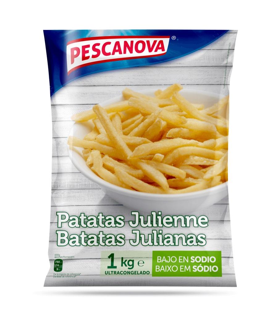 Patatas Julienne Prefritas
