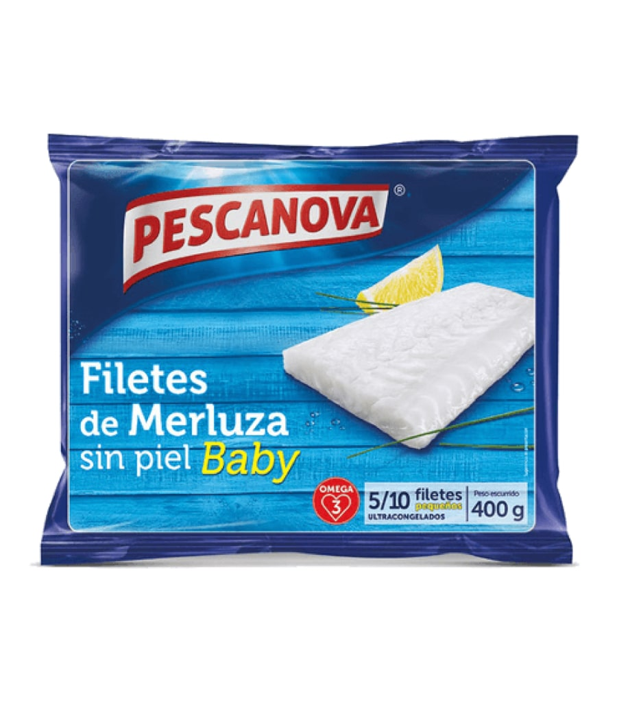 Filetes de Merluza s/p Baby