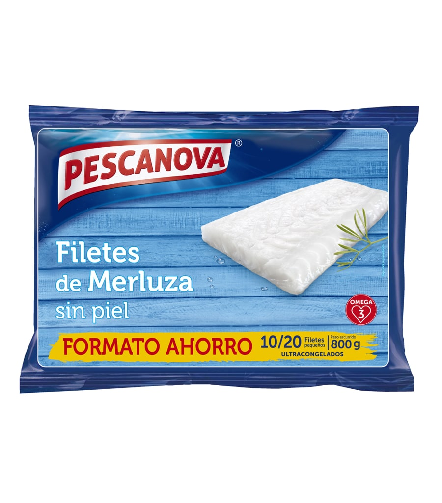 Filetes de Merluza s/p Envase ahorro