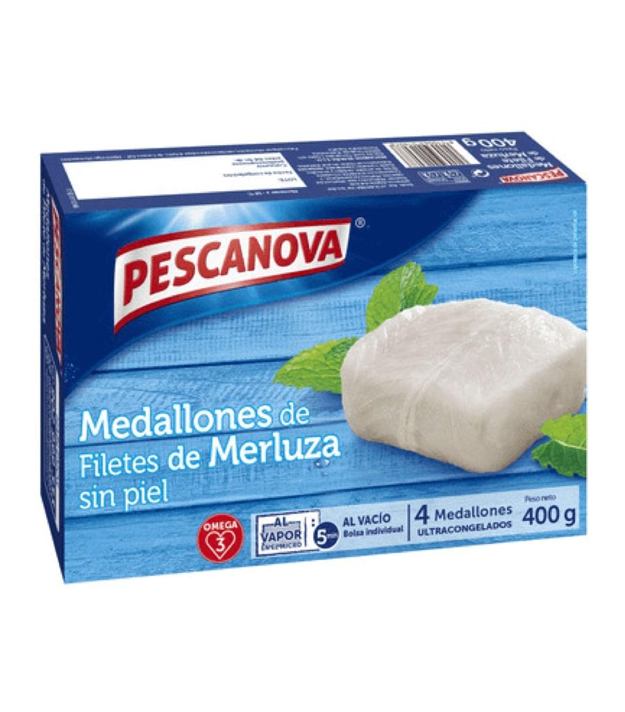 Medallones de Filete de Merluza